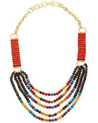 Stephanie Kantis | Jepang Semi-precious Multi-stone Necklace | Lyst