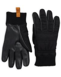 UGG - Leather & Wool Smart Glove - Lyst