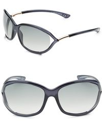 Tom Ford - Jennifer 61mm Rectangular Sunglasses - Lyst