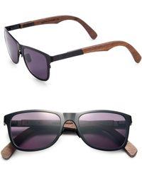 Shwood - Canby Walnut & Titanium Sunglasses - Lyst