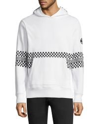 Ovadia And Sons - Chequered Cotton Hoodie - Lyst