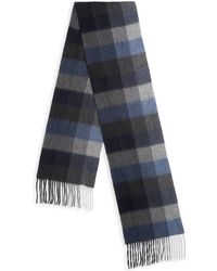 Saks Fifth Avenue - Collection Box Plaid Cashmere Scarf - Lyst