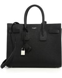 Saint Laurent - Classic Leather Small Sac De Jour Bag - Lyst
