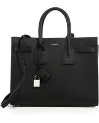 Saint Laurent - Classic Leather Small Sac De Jour Bag - Lyst