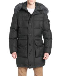 Moncler - Afton Coyote Fur-trimmed Puffer Coat - Lyst
