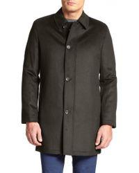 Saks Fifth Avenue - Wool & Cashmere Coat - Lyst