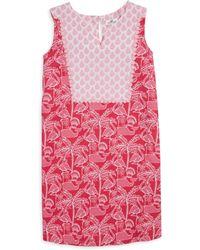 Vineyard Vines - Little Girl's & Girl's Flamingo-print Shift Dress - Lyst