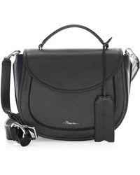 3.1 Phillip Lim - Hudson Leather Top Handle Saddle Bag - Lyst