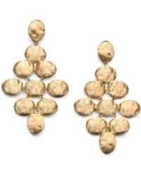 Marco Bicego - Siviglia 18k Yellow Gold Chandelier Earrings - Lyst