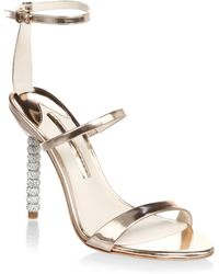 Sophia Webster - Crystal-embellished Leather Stiletto Court Shoes - Lyst