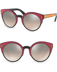 Prada - Bright Mirrored Sunglasses - Lyst