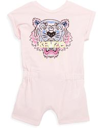 KENZO - Baby's Tiger Romper - Lyst