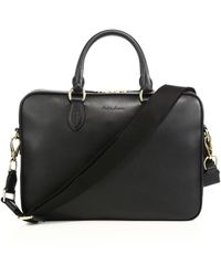 Polo Ralph Lauren - Leather Crossbody Briefcase - Lyst
