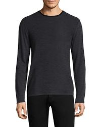Zachary Prell - Huxley Colorblock Wool Sweater - Lyst