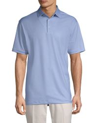 Peter Millar - Pointer Printed Short-sleeve Polo - Lyst