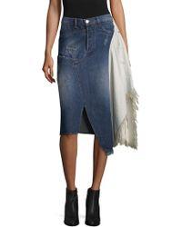 Each x Other | Deconstruted Denim Skirt | Lyst
