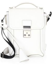3.1 Phillip Lim - Pashli Leather Camera Bag - Lyst