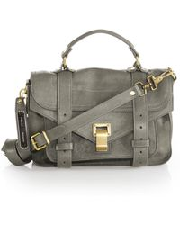Proenza Schouler | Ps1 Tiny Leather Satchel | Lyst