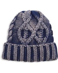 Saks Fifth Avenue - Modern Cable-knit Beanie - Lyst