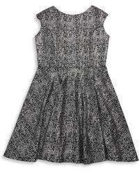 Un Deux Trois - Girl's Flare Dress - Lyst