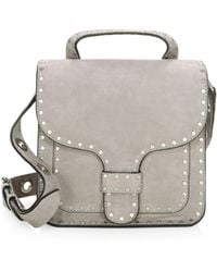 Rebecca Minkoff - Midnighter Leather Top Handle Bag - Lyst