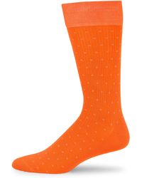 Saks Fifth Avenue - Ribbed Socks - Lyst