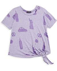 Terez - Girl's Nyc Icons Short-sleeve Tee - Lyst