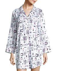 Saks Fifth Avenue - Collection Printed Sleepshirt - Lyst