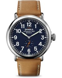 Shinola - The Runwell 47mm Watch  - Lyst