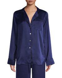 Commando - Silk Sleep Shirt - Lyst
