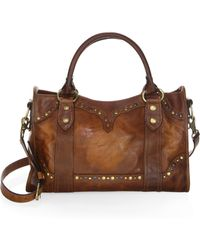 Frye - Melissa Western Leather Satchel - Lyst