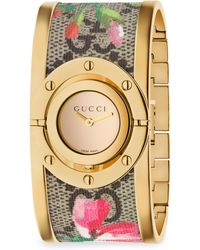 Gucci | Twirl Blooms Bangle Watch | Lyst