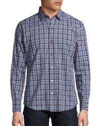 Zachary Prell - Plaid Long-sleeve Sport Shirt - Lyst