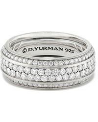 David Yurman | 85mm Beveled Edge Band Bracelet | Lyst