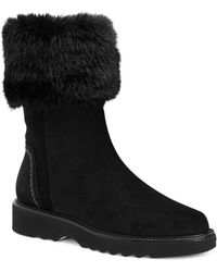 Aquatalia - Kelly Faux Fur Boots - Lyst
