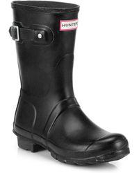 HUNTER - Original Short Rain Boots - Lyst