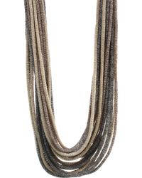 Lafayette 148 New York - Multi Strand Signature Collar Necklace - Lyst