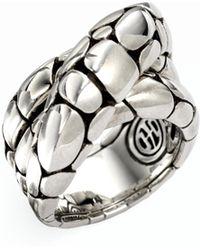 John Hardy - Kali Sterling Silver Twist Ring - Lyst