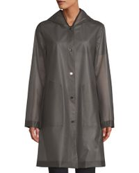 Jane Post - Hooded Light Jacket - Lyst