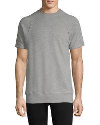 2xist - Terry Short-sleeve Sweatshirt - Lyst