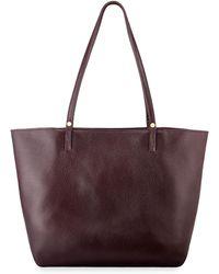 b4e3a8b0ee Lyst - COACH Suede Large Market Tote (li oxblood Black) Handbags