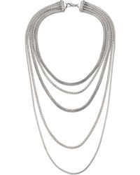 John Hardy - Classic Chain Sterling Silver Multi-strand Necklace - Lyst