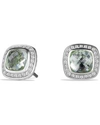 David Yurman - 'albion' Earrings With Semiprecious Stone And Diamonds - Lyst