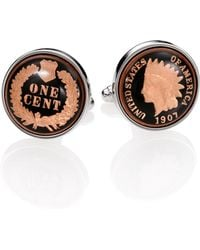 David Donahue - Authentic Indian Head Coin Cuff Links - Lyst