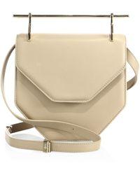 M2malletier - Amor Fati Leather Shoulder Bag - Lyst