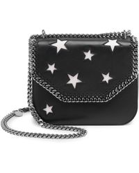 Stella McCartney | Stars Faux Leather Shoulder Bag | Lyst