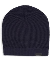 e64995a6284 Lyst - Phase 3  stand Up  Basket Knit Slouchy Beanie for Men