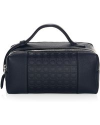 Ferragamo - Gancio Leather Dopp Kit - Lyst