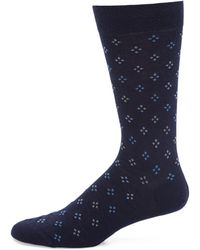 Pantherella | Darsham Diamond Clustered Socks | Lyst