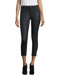 Joie | Park B Coated Skinny Jeans | Lyst